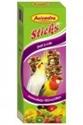 Obrázek Tyčinky pro malé papoušky s ovocem a ořechy
