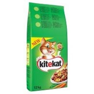 Picture of Kitekat granule s hovězím masem a zeleninou 12 kg