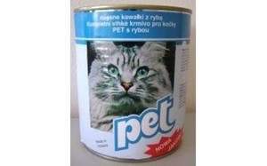 Picture of PET KATZE masové kostky s rybou pro kočky 855 g