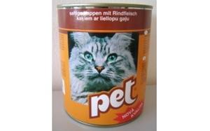 Picture of PET KATZE kostky s hovězím masem pro kočky 855 g