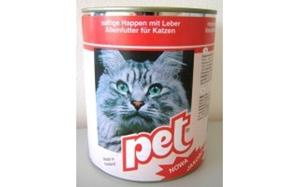Picture of PET KATZE masové kostky s játry pro kočky 855 g