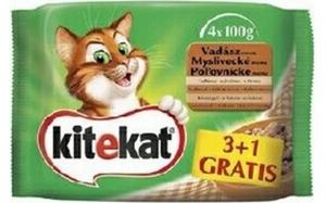 Picture of Kitekat kapsičky Drůbeží menu 4 x 100g multipack