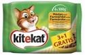 Obrázek Kitekat kapsičky Farmářské menu 4 x 100g multipack
