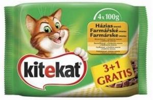 Picture of Kitekat kapsičky Farmářské menu 4 x 100g multipack
