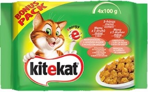Picture of Kitekat kapsičky Selské menu 4 x 100g multipack