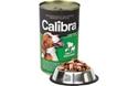 Obrázek Calibra Dog konz. jehněčí+hovězí+kuřecí v želé 1240g