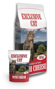 Picture of Delikan Exclusive Cat With Cheese 10kg
