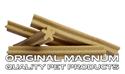 Obrázek MAGNUM jerky tyčka kříž přírodní 12,5cm 1.090g cca 50 ks