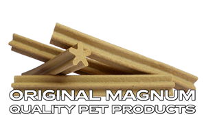 Picture of MAGNUM jerky tyčka kříž přírodní 12,5cm 1.090g cca 50 ks