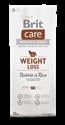 Obrázek BRIT CARE WEIGHT LOSS RABBIT & RICE 12 kg + DOPRAVA ZDARMA