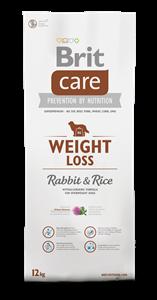 Picture of BRIT CARE WEIGHT LOSS RABBIT & RICE 12 kg + DOPRAVA ZDARMA