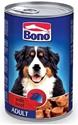 Obrázek BONO Adult konzerva pes hovězí 1250g