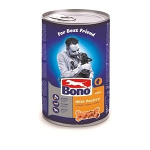 Picture of BONO Adult konzerva pes s důbežím 1250g