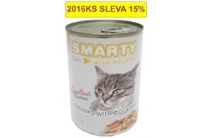 Picture of SMARTY chunks CAT 410g POULTRY-drůbeží
