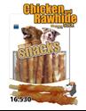 Obrázek Magnum Chicken Roll on Rawhide Stick 250g