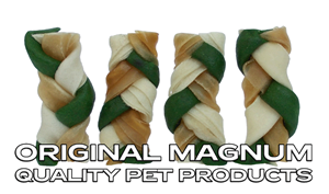 """Picture of MAGNUM Rawhide Small braid GREEN 2,5"""" 40ks"""