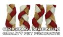"Obrázek MAGNUM Rawhide Small braid RED 2,5"" 40ks"