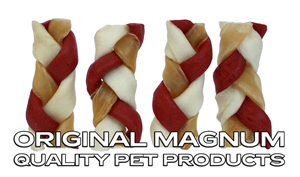 """Picture of MAGNUM Rawhide Small braid RED 2,5"""" 40ks"""