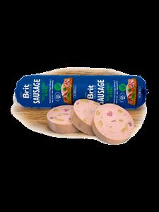 Picture of Brit Premium Sausage Turkey & Peas 800g