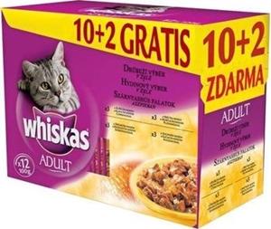 Picture of Whiskas kapsa Drůbeží výběr v želé 12 x 100 g