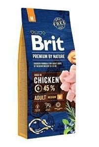 Picture of Brit Premium by Nature Adult M 15+3 kg + DOPRAVA ZDARMA