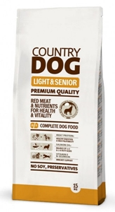 Picture of COUNTRY DOG Light & Senior 15kg