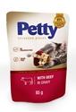 Obrázek PETTY shred kapsička s hovězím 85g
