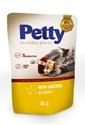 Obrázek PETTY shred kapsičky s kuřecím v omáčce 85g