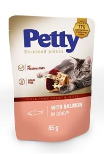 Picture of PETTY shred kapsička s lososem v omáčce 85g