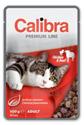 Obrázek Calibra Cat kapsa Premium Adult Chicken & Beef 100g