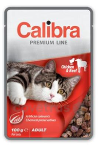 Picture of Calibra Cat kapsa Premium Adult Chicken & Beef 100g