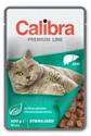 Obrázek Calibra Cat kapsa Premium Sterilised Liver 100g