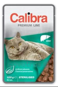 Picture of Calibra Cat kapsa Premium Sterilised Liver 100g