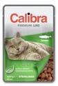 Obrázek Calibra Cat kapsa Premium Sterilised Salmon 100g