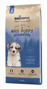 Picture of Chicopee Dog Maxi Puppy Poultry & Millet 15kg  + DOPRAVA ZDARMA