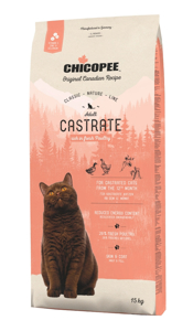 Picture of Chicopee Cat Castrate Poultry 15kg + DOPRAVA ZDARMA